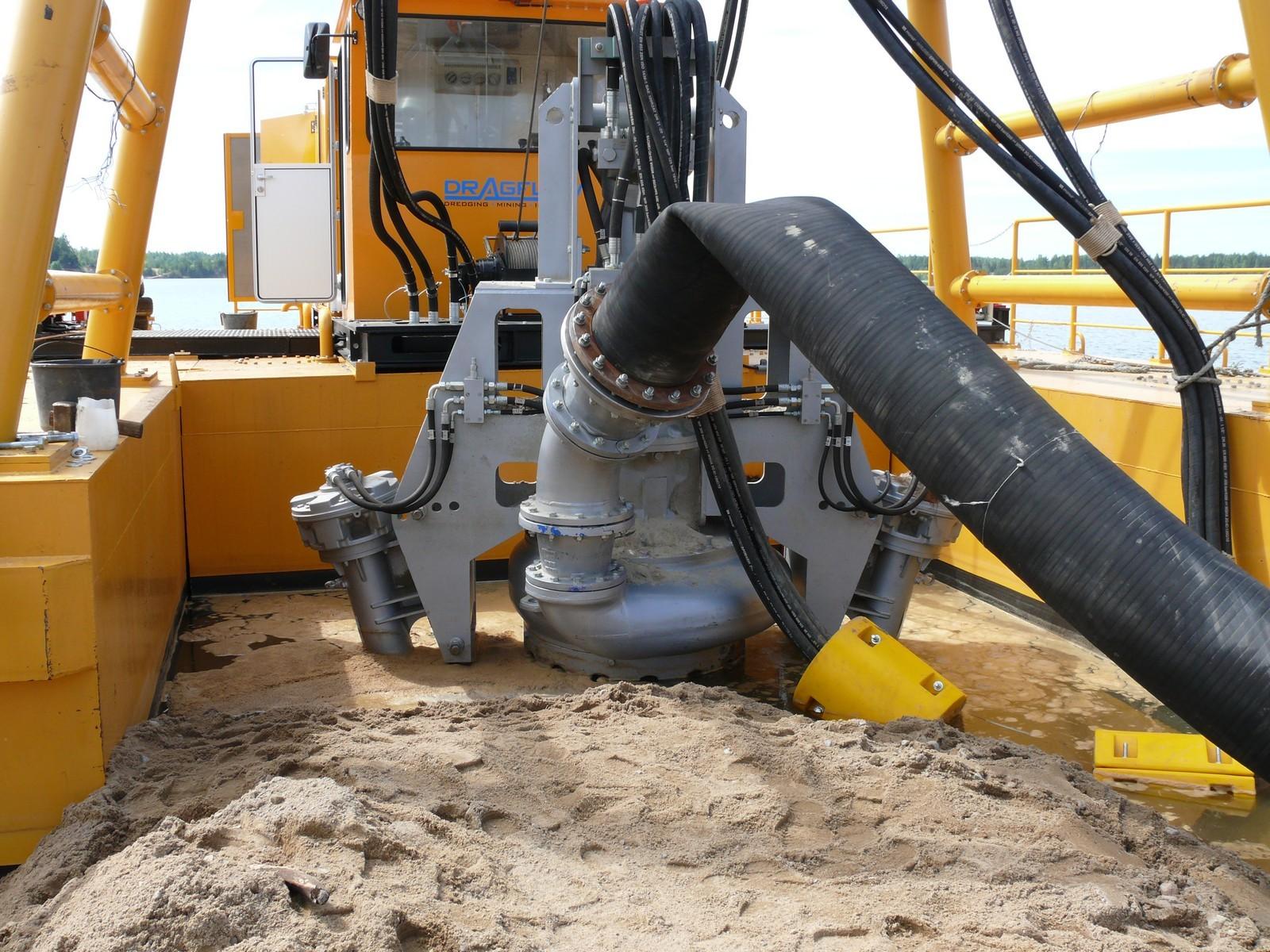 Гидравлический насос для песка  НУ 400